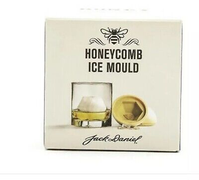 Brand New Limited Edition Jack Daniel/'s Tennessee Honey Honeycomb Ice Mould Cube