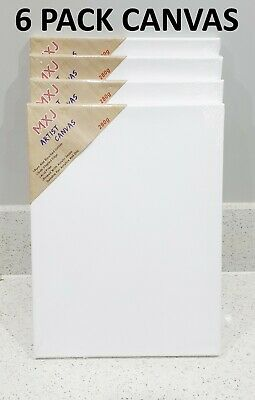 "4 Pack 30 X 40Cm 12"" X 16"" Blank Canvas Stretched Painting Art Acrylic Canvas"