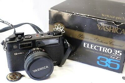 Yashica GT Electro 35 Rangefinder 35mm camera *BOXED* with 45mm 1:1.7 lens