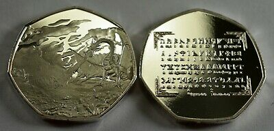 Middle Earth & Rune Translator collectable for 50p collectors coin hunt. Tolkien