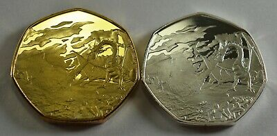 Middle Earth & Rune Translator duo set 50p collectors coin hunt. Tolkien