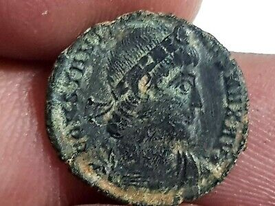 Strong-Willed Unresearched Ancient Byzantine Bronze Coin Rich And Magnificent Coins & Paper Money Coins: Ancient