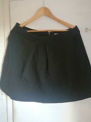 Women's Louche Black Skirt Size 16 XL
