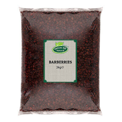 Dried Barberries 3kg (Zereshk) - Free UK Delivery