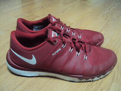 official photos 61ac6 e75bd Mens Nike Air Max Flywire Athletic Running Track Shoes Size 13 M EUC