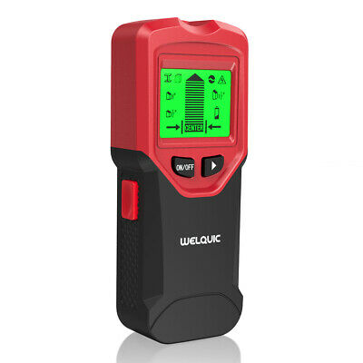 Welquic 3 In 1 LCD Stud Center Finder Metal AC Live Wire Detector Multimeter