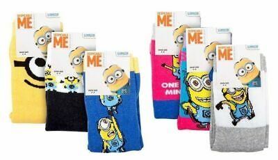 59 pairs ladies/girls Minions Socks Despicable Me job lot/wholesale