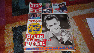 Luke Perry Dylan Beverly Hills Madonna Su Stop 2330 Con Poster Centrale