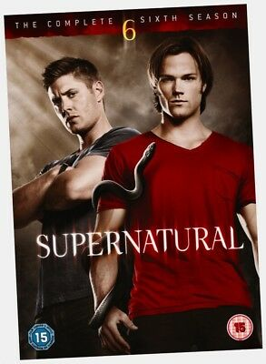 Supernatural Complete Six Series 6 Season 6