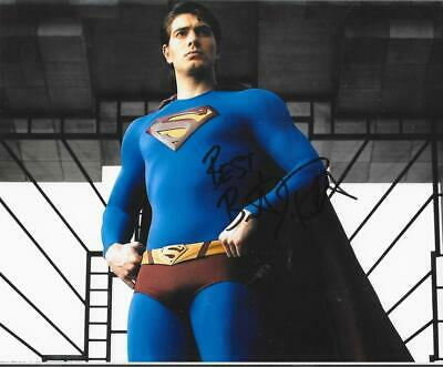 Brandon Routh Signed 8X10 Photo Superman Movie Actor Autograph