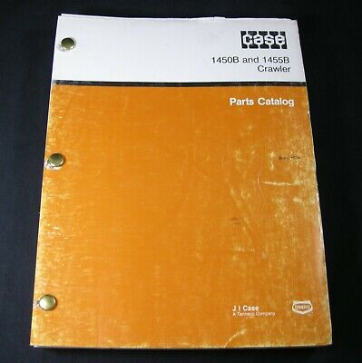 CASE 1450 CRAWLER Dozer Loader Tractor Parts Manual Catalog