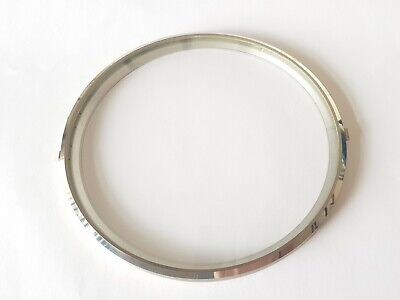 Chrome Clock Bezel and Glass 160/143mm German Made Quality