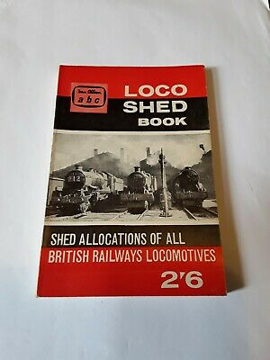 Jan 1961 abc British Railways Loco Shed Book Ian Allan