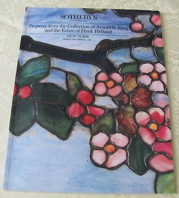 Auktionskatalog Sotheby's Collektion Arnold R.King Estate of Hank Helfand 1989