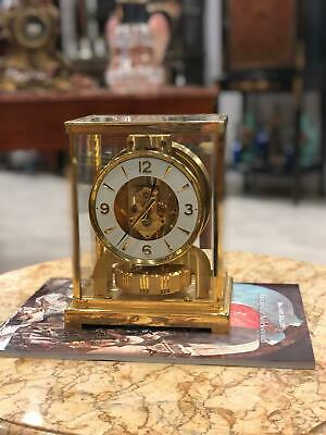 Vintage Fantastic Condition Jaeger Le Coultre Atmos Clock Swiss Made
