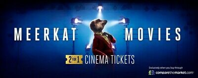 Meerkat Movies 2 For 1 Cinema Code 28th may or 29th May 2019