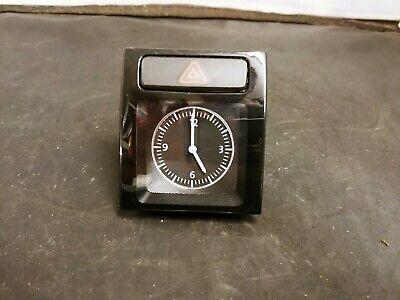 12-15 Oem Vw Passat B7 Dash Clock W/ Emergency Flasher Hazard Switch 561919204B
