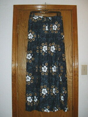 b98f3cdfe0 Womens Maui Tom's Hawaiian Beach Wear Wrap Around Pants 1 Size Wide Leg  Flowers