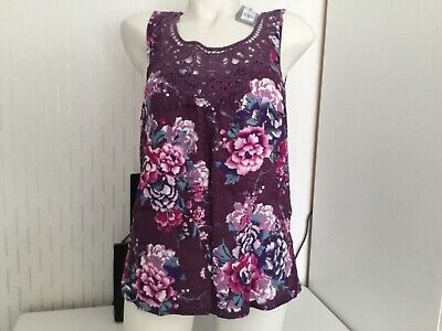 Ladies Marks and Spencer Pj Top size 8 bnwt