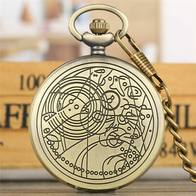 TO MY SON Watches Men Boy Quartz Pocket Watch Pendant Chain Doctor Who Design