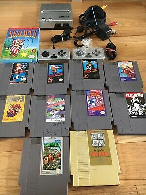 Nes Retron Lot Mega Man 2 Legend Of Zelda Rare 5 Screw Mickey Mouse Super Mario