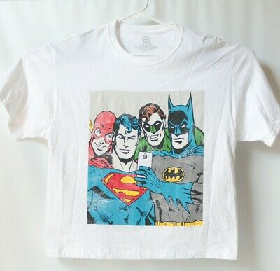 Justice League of America World Of No Return T-Shirt DC Comics Sizes S-3X NEW