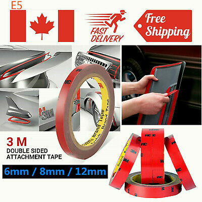 Auto Vehicle Car 3M Strong Permanent Double Sided Super Sticky Foam Tape Roll