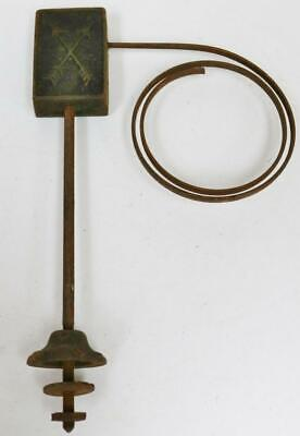 Original Antique German HAC Bracket Clock Gong, Single Gong Stand Clock Spares