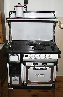 **PRICE REDUCED** Antique Monarch Wood/Coal/Electric Stove Restored
