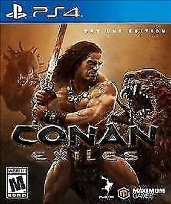Conan Exiles USED SEALED (Sony PlayStation 4, 2018) PS4