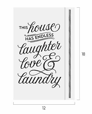 NIP Chalk Couture Endless Love Laughter Laundry transfer, brand new