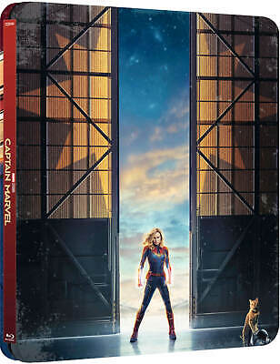 Captain Marvel (3D + 2D Blu-ray Steelbook) BRAND NEW PRE-ORDER