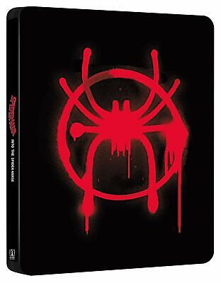Spider-Man: Into the Spider-Verse (4K UHD + Blu-ray Steelbook) NEW