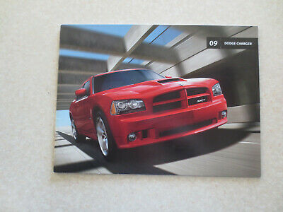 2009 Dodge Charger automobile advertising booklet
