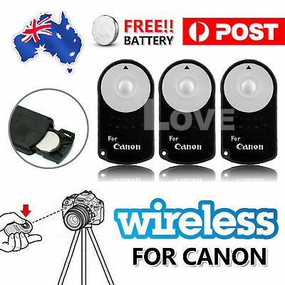 New RC-6 Wireless Remote Control for Canon 7D 70D 700D 6D EOS M Mark III MARK3