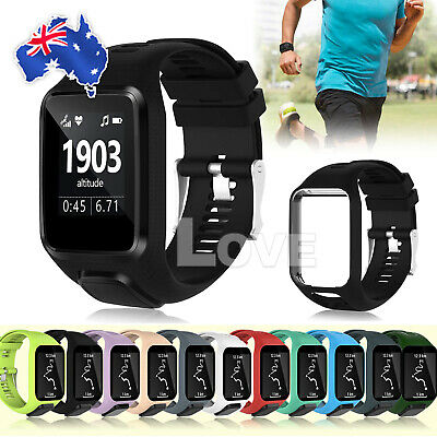 Wrist Band For TomTom Runner 2 3 Spark 3 GPS Watch Replacement Silicone Strap AU