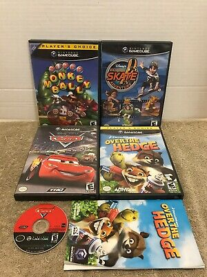 Nintendo GameCube Replacement Cases ***USED LOT OF 4 - AUTHENTIC***