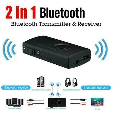 3.5MM Bluetooth V4-Transmitter Receiver Wireless A2DP Stereo Audio Music Adapter