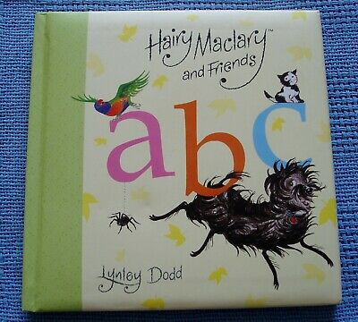 Hairy Maclary And Friends A B C * Lynley Dodd * Hc 2014 Fold-Out Alphabet Chart