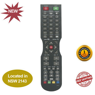 TV Remote Control Replaced SONIQ QT1D QT166 QT155 S55UV16A-AU S55UV16B-AU