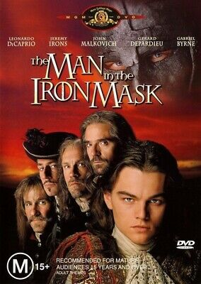 The Man In The Iron Mask DVD, 2004 Brand New Sealed Leonardo DiCaprio