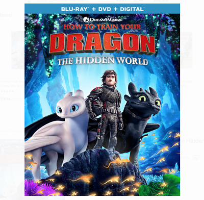 How to Train Your Dragon The Hidden World Blu Ray & DVD 2 Disc Set 2019 Movie 3