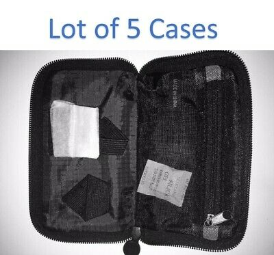 Lot 5 - Travel Case for Bayer Contour Next USB or Link Monitor Meter - Pouch NEW