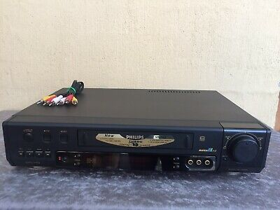 Serviced Philips VR-743 Hifi Stereo Video Recorder JAPAN Player NO REMOTE VCR