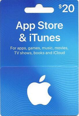 $20 App Store & iTunes Gift Card