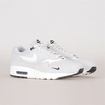 5acdf90df6 Nike Air Max 1 Premium Mini Swoosh Pure Platinum (875844 006) NEW! RARE