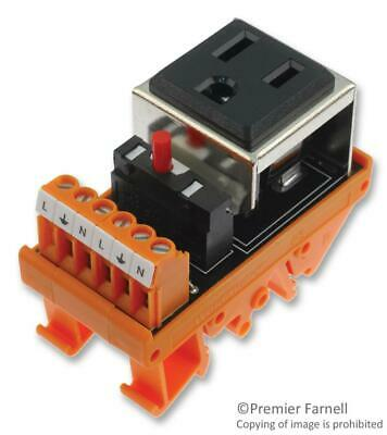 Weidmuller-9915480001-Ac Outlet With Circuit Breaker5A