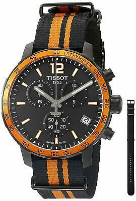 TISSOT T0954173705700 Quickster Orange Synthetic Nylon Men's Watch