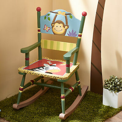 Fantasy Fields Children Sunny Safari Kids Holz-Schaukelstuhl Babyzimmer W-8266A