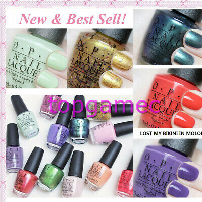 Best Sells OPI H65 -H76 #Lacquer Nail Polish Lisbon Collection Series  New